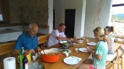zajednički ručak :-D