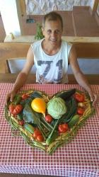 povrćasto srce :-)